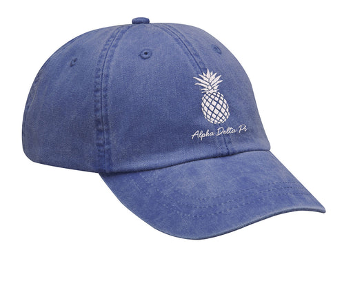 Alpha Delta Pi Pineapple Embroidered Hat