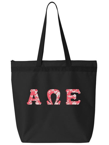 Alpha Omega Epsilon Tote Bag
