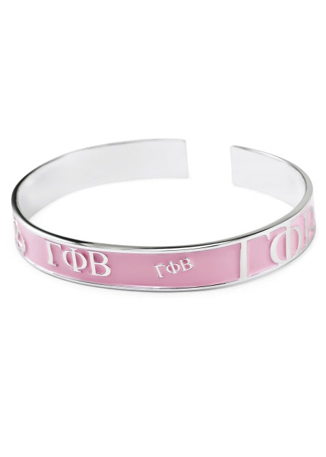 Gamma Phi Beta Bangle Bracelet