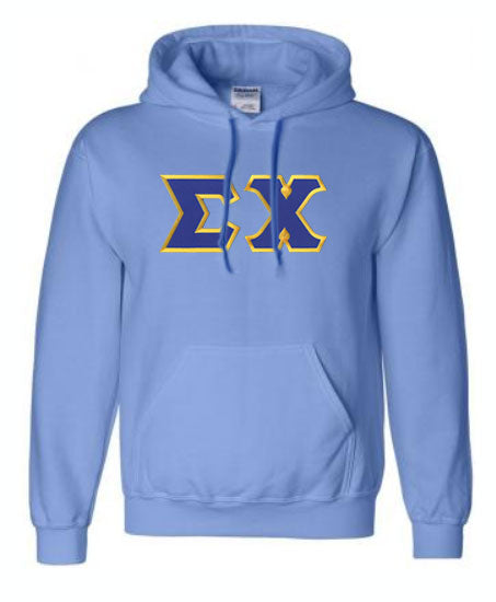 Sigma Chi Lettered Hoodie