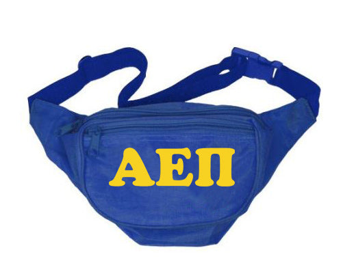 Alpha Epsilon Pi Fanny Pack Letters Layered Fanny Pack