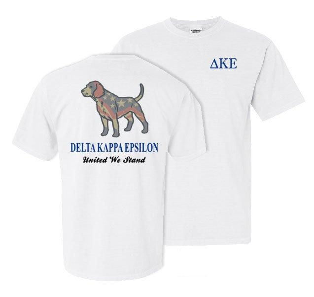 Delta Kappa Epsilon Stand Tall Comfort Colors Heavy Tee