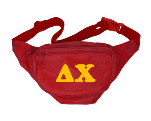 Delta Chi Fanny Pack Letters Layered Fanny Pack