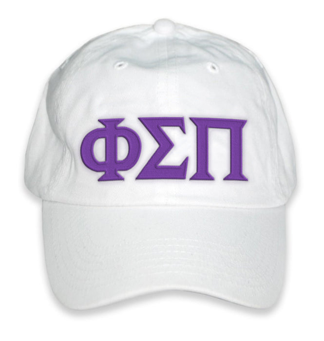 Phi Sigma Pi Greek Letter Embroidered Hat