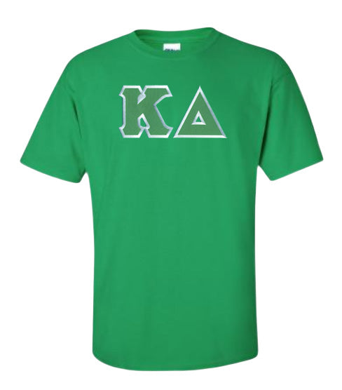 Kappa Delta Lettered T Shirt