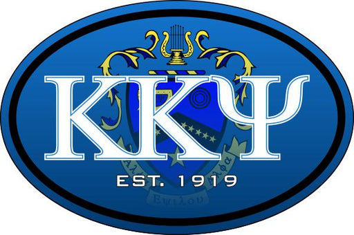 Kappa Kappa Psi Color Oval Decal