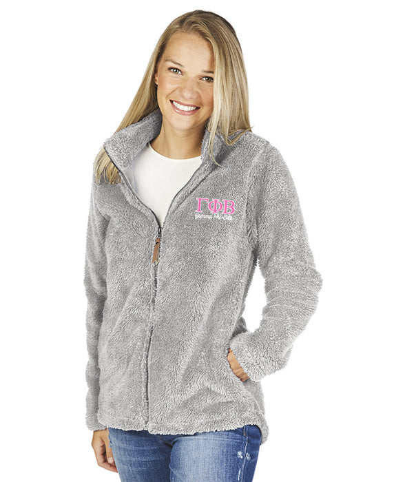 Gamma Phi Beta Newport Full Zip Fleece Jacket