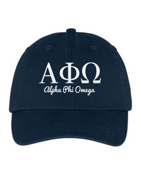 Alpha Phi Omega Collegiate Curves Hat