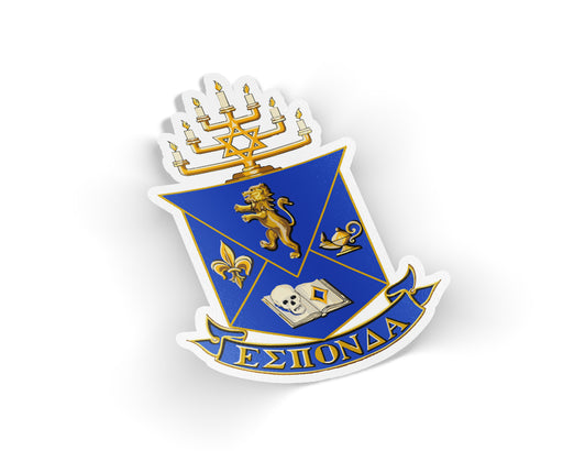 Alpha Epsilon Pi Die Cut Crest Decal
