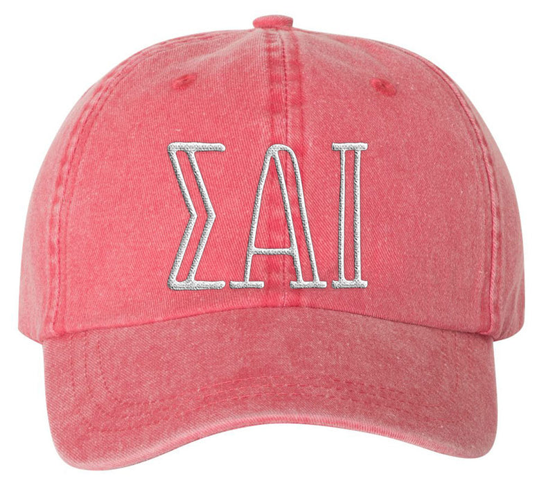 Sigma Alpha Iota Sorority Greek Carson Embroidered Hat