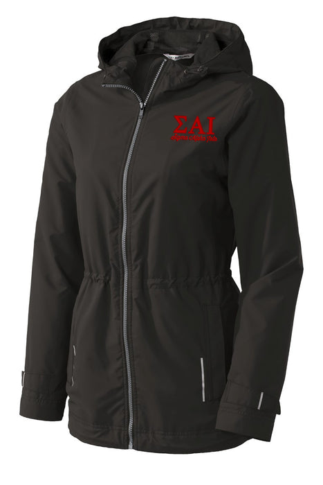 Sigma Alpha Iota Embroidered Ladies Northwest Slicker