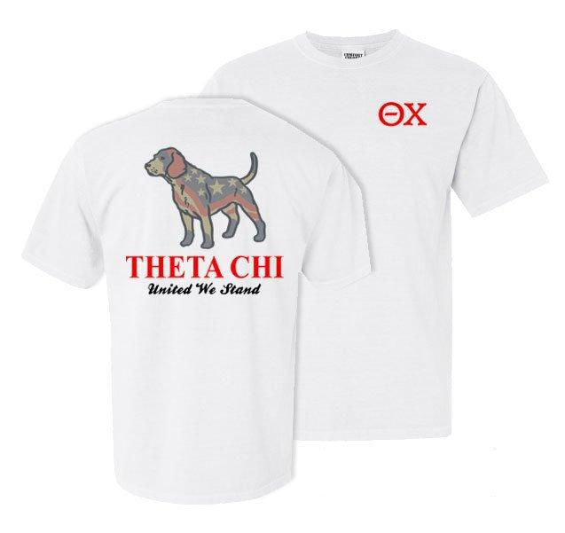 Theta Chi Stand Tall Comfort Colors Heavy Tee