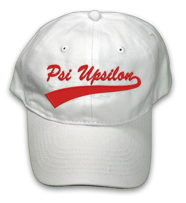 Psi Upsilon New Tail Baseball Hat