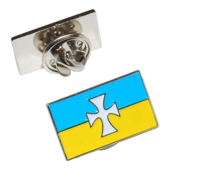 Sigma Chi Fraternity Flag Pin