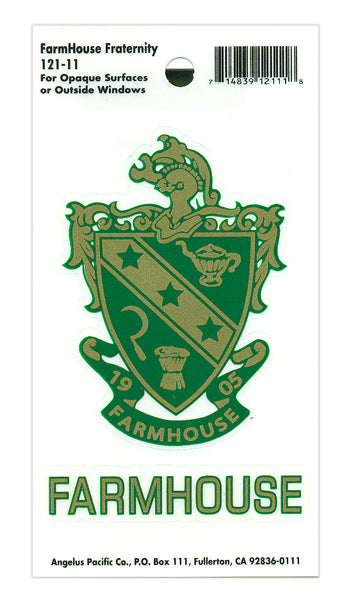 Farmhouse Crest Decal