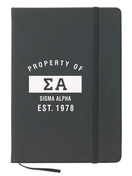 Sigma Alpha Property of Notebook