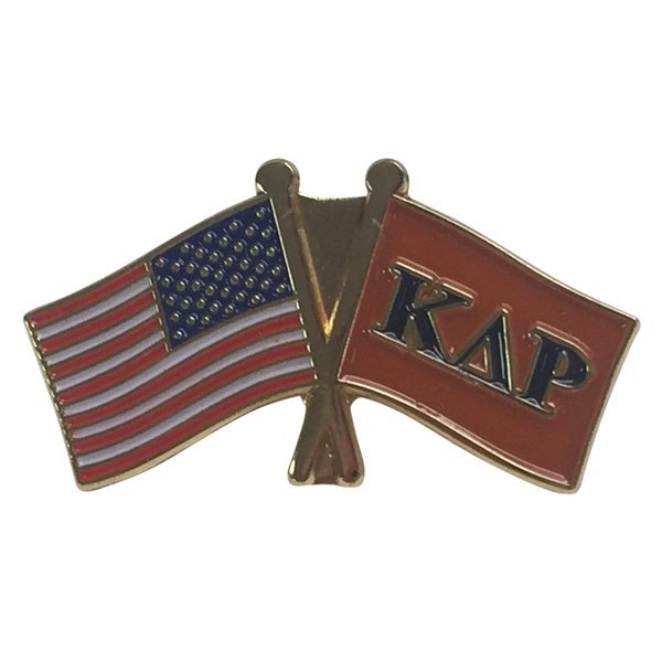 Kappa Delta Rho USA / Fraternity Flag Pin