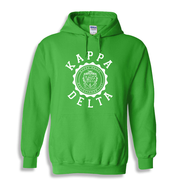 Kappa Delta World Famous Seal Crest Hoodie