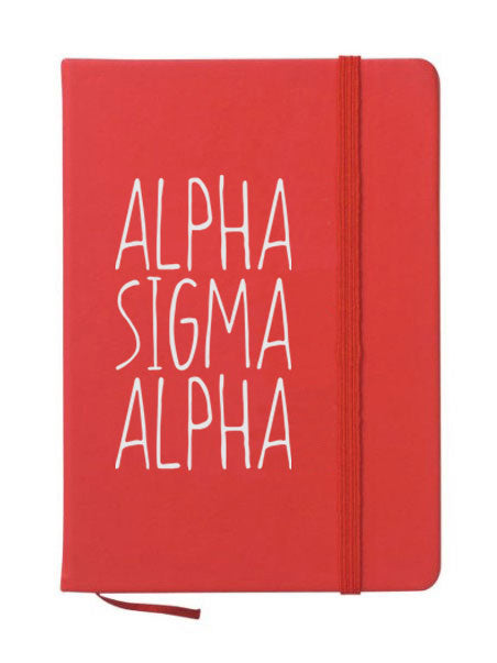 Alpha Sigma Alpha Mountain Notebook