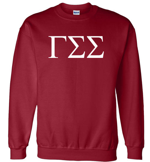 Gamma Sigma Sigma World Famous Lettered Crewneck Sweatshirt