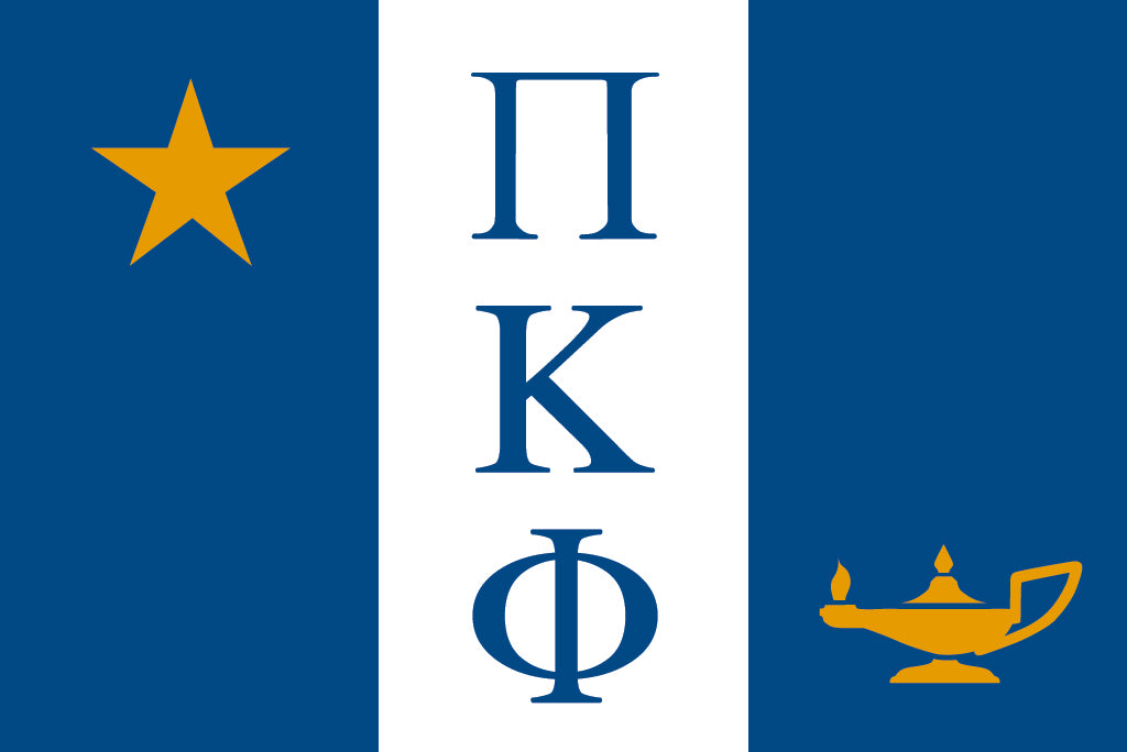 Pi Kappa Phi Fraternity Flag Sticker