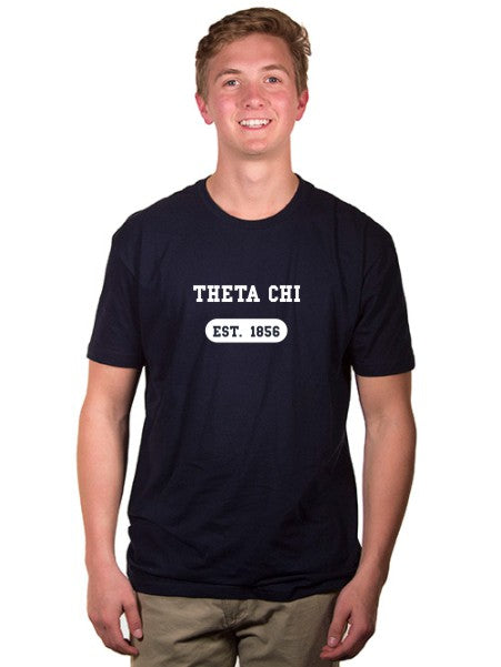 Theta Chi Year Established Jersey Tee