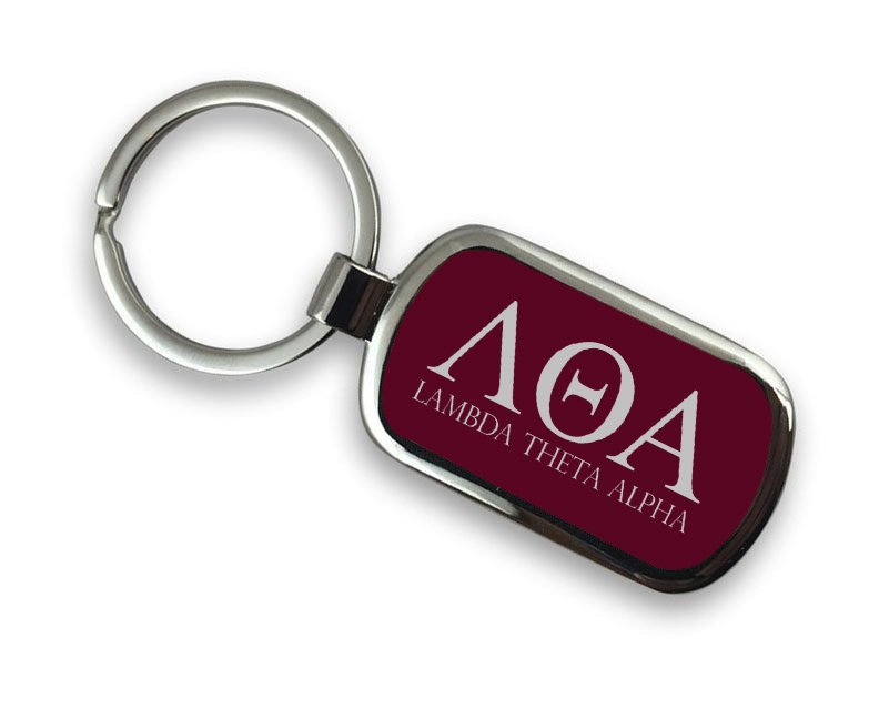 Lambda Theta Alpha Chrome Key Chain