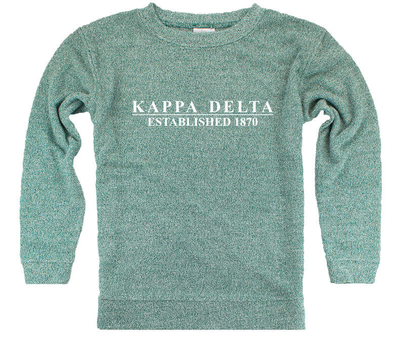 Kappa Delta Year Established Cozy Sweater