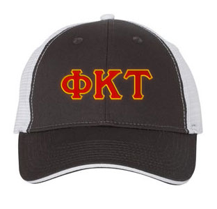 Phi Kappa Tau Greek Trucker Cap