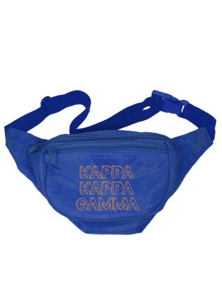 Kappa Kappa Gamma Million Fanny Pack