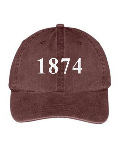 Gamma Phi Beta Year Established Embroidered Hat