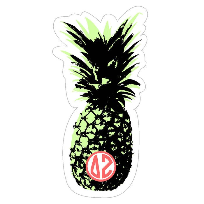 Delta Zeta Pineapple Sticker