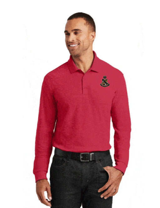 Alpha Sigma Phi Long Sleeve Polo