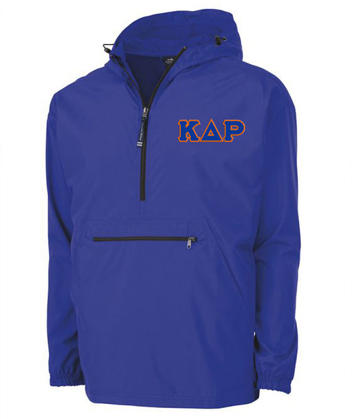 Kappa Delta Rho Embroidered Pack and Go Pullover