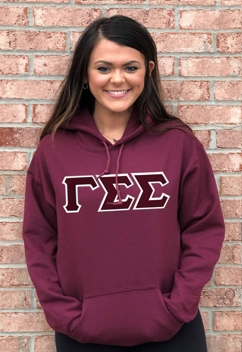 Gamma Sigma Sigma Lettered Hoodie
