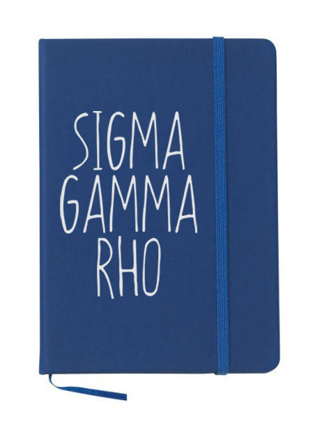 Sigma Gamma Rho Mountain Notebook