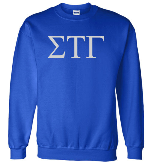 Sigma Tau Gamma World Famous Lettered Crewneck Sweatshirt