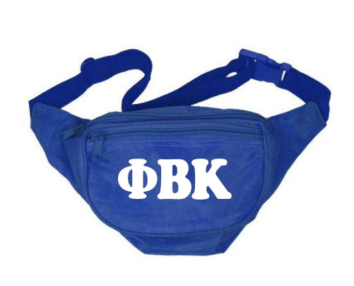 Phi Beta Kappa Fanny Pack Letters Layered Fanny Pack