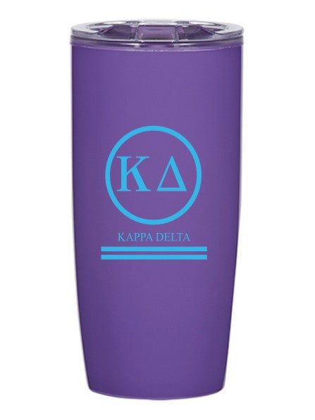 Kappa Delta Circle Stripes 19 oz Everest Tumbler