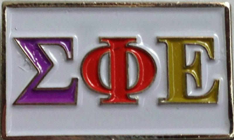 Sigma Phi Epsilon Fraternity Flag Pin