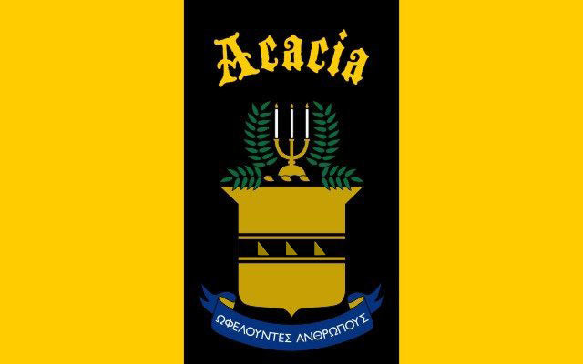 Acacia Fraternity Flag Sticker