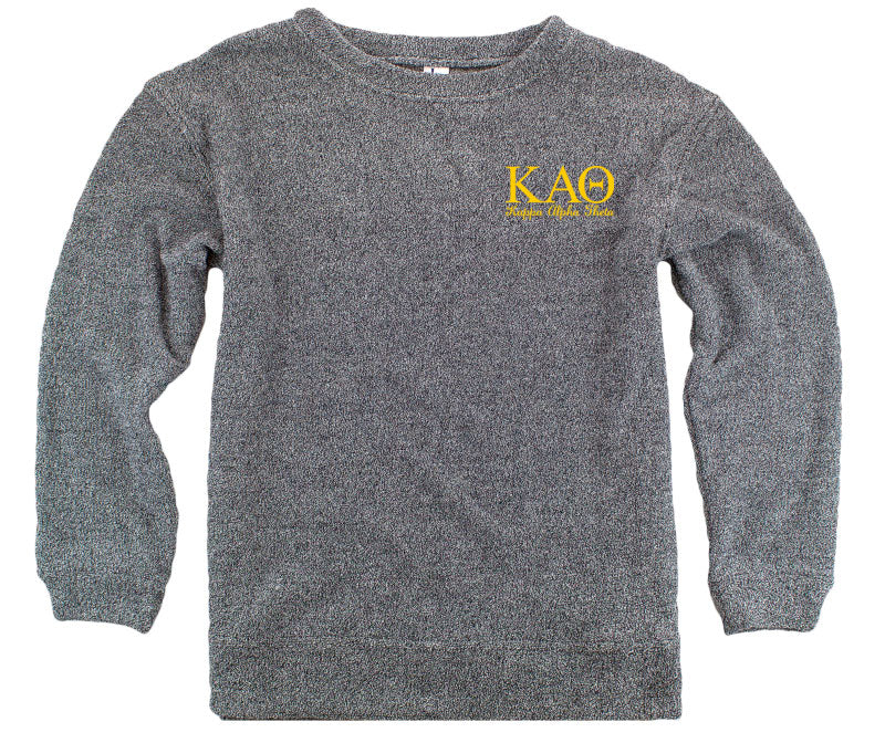 Kappa Alpha Theta Lettered Cozy Sweater