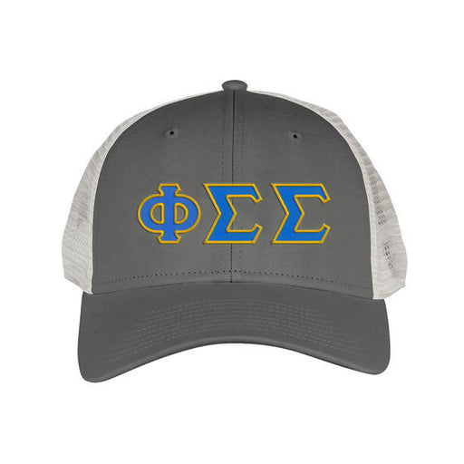 Phi Sigma Sigma Greek Trucker Cap