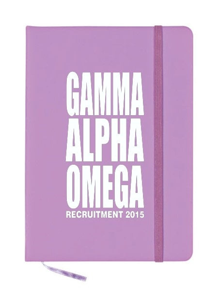 Gamma Alpha Omega Impact Notebook