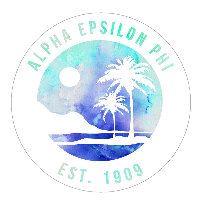 Alpha Epsilon Phi Oasis Sticker