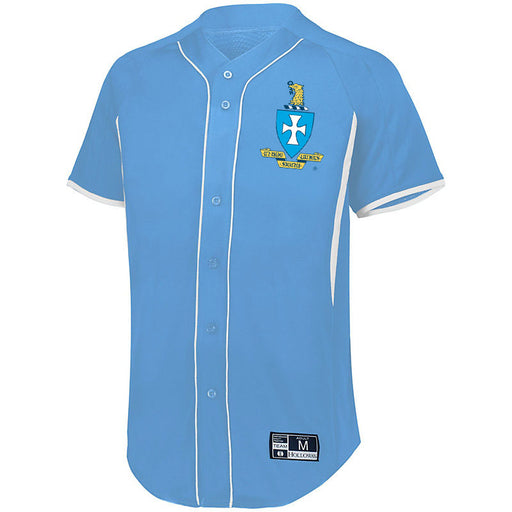 Sigma Chi 7 Full Button Baseball Jersey