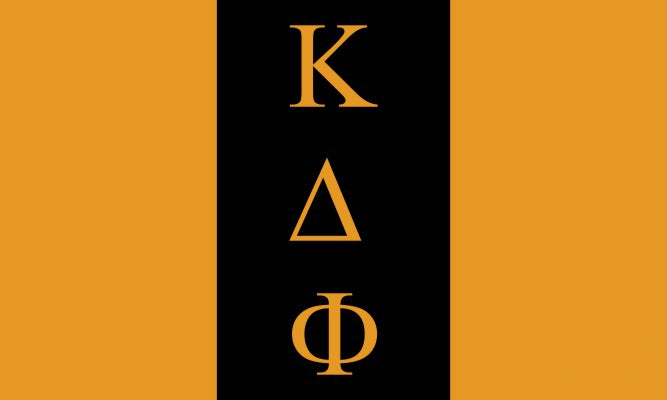 Kappa Delta Phi Fraternity Flag Sticker