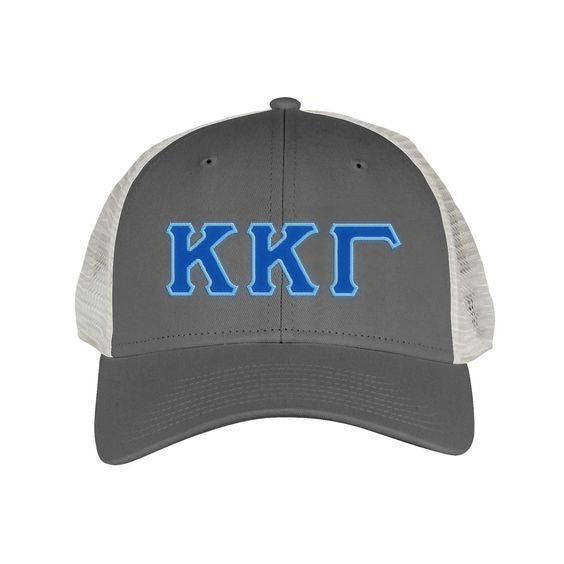 Kappa Kappa Gamma Greek Trucker Cap