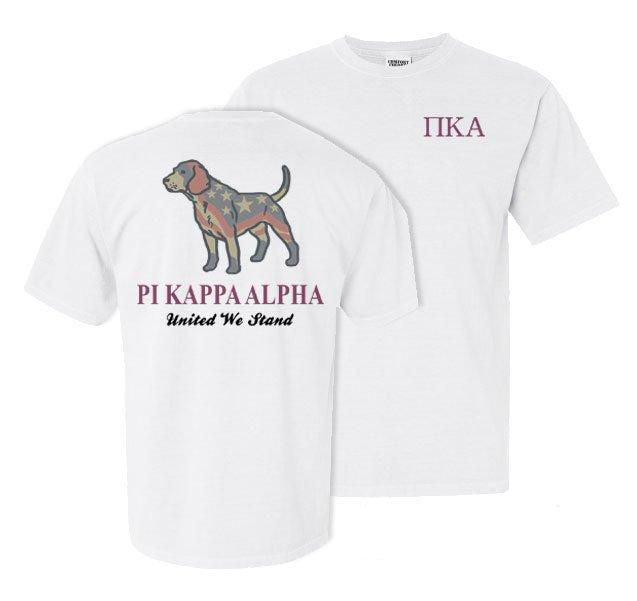 Pi Kappa Alpha Stand Tall Comfort Colors Heavy Tee