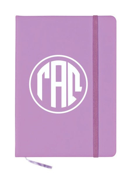 Gamma Alpha Omega Monogram Notebook